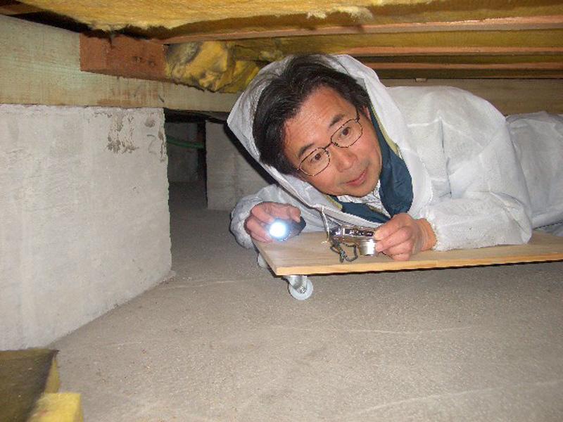 床下インスペクション